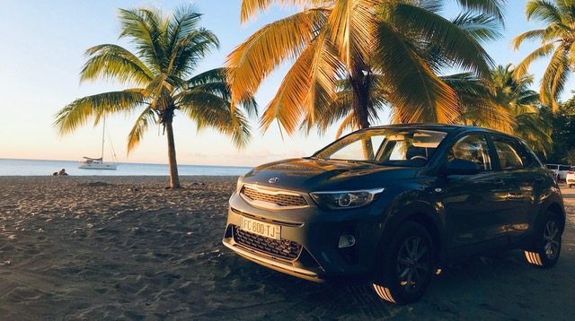 SUV for rent in Martinique